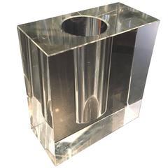 Glass Block Vase