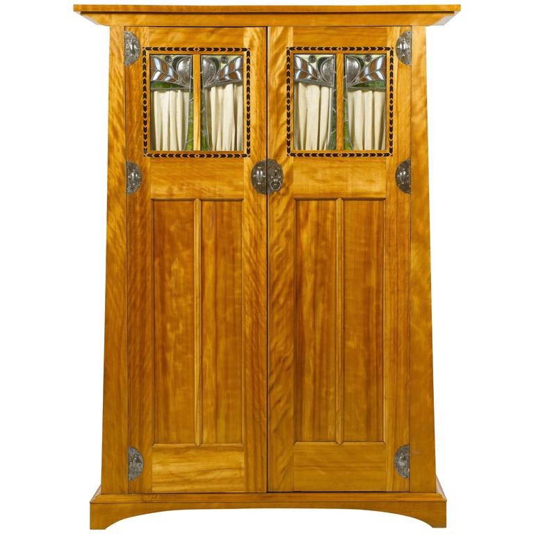 GEORGE WALTON Satin Birch Wardrobe