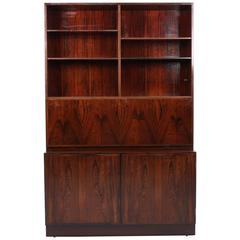 Rosewood Model 9 Secretary or Bookcase by Gunni Omann for Omann Jun