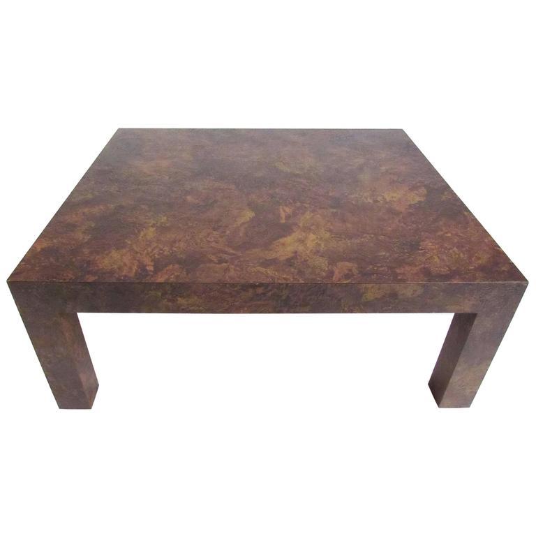 Dunbar Style Parsons Coffee Table