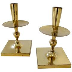 Great Pair of Tommi Parzinger Candlesticks