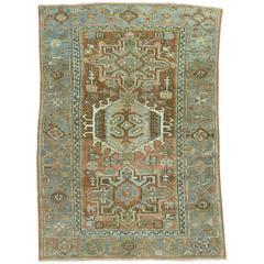 Persian Heriz Scatter Rug