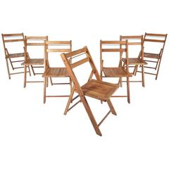 Vintage Modern Folding Chairs