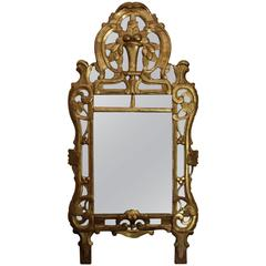 Early 19th Century French Provencal Mirror