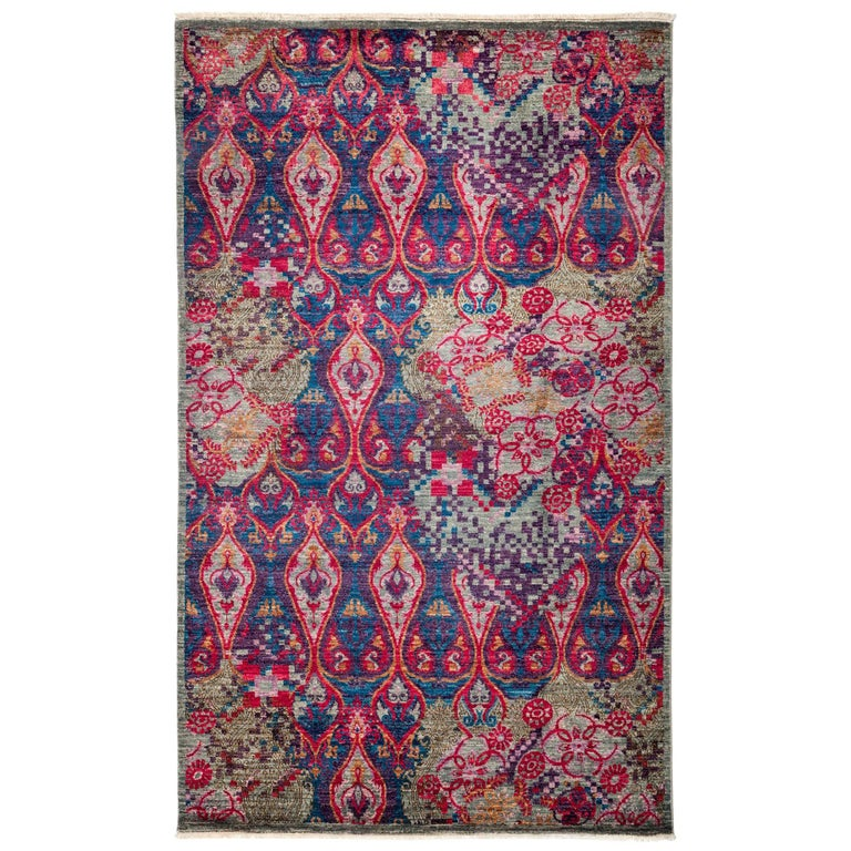Pink Suzani Area Rug For Sale At 1stdibs