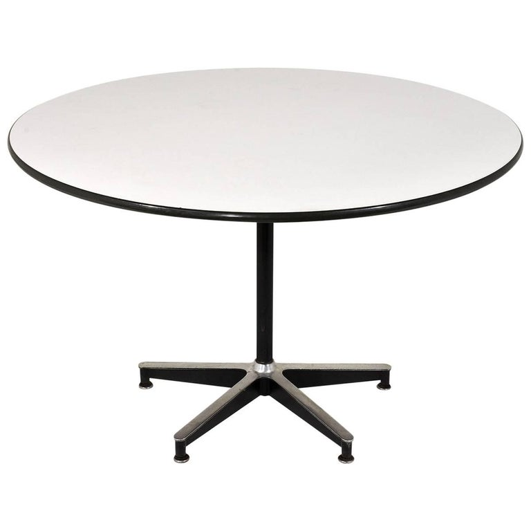 Herman Miller Style Dining Table For Sale At 1stdibs