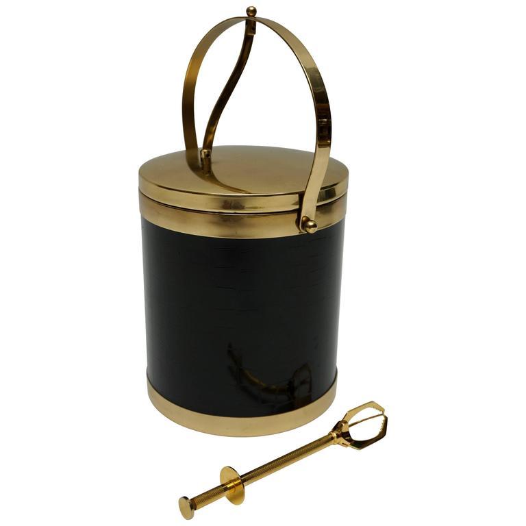 Rare Brass Ice Bucket