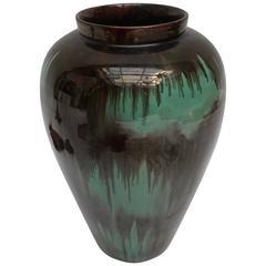 Ceramic Vase by Signed C. Darainha, Portugal