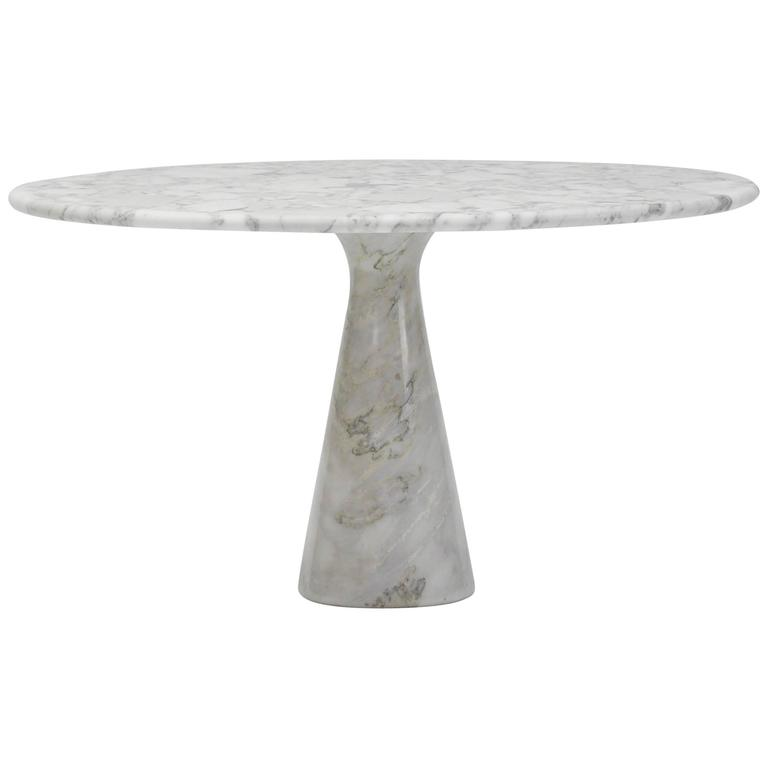 Eros Collection Marble Dining Table By Angelo Mangiarotti