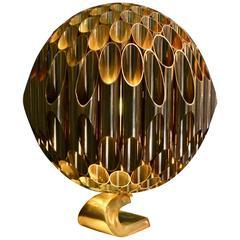 Rare Lamp Ruche by Michel Armand