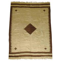 Vintage Turkish Mohair Rug