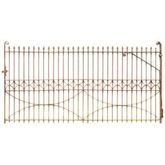 Antique Wrought Iron Gate, circa 1840
