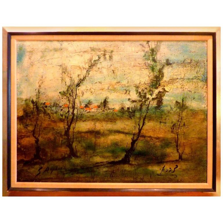 Expressionist Painting by Zvi Raphaeli