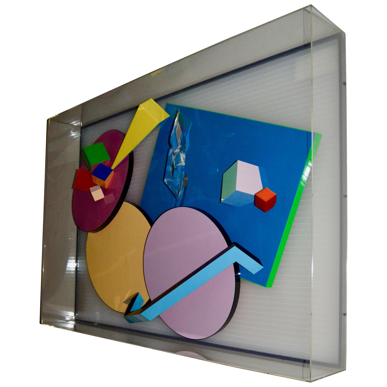 1989 Jean Claude Farhi Wall Sculpture