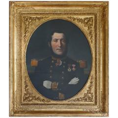 Portrait of a French Naval Officer, Vice Admiral Thomasset