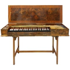 Antique Clavichord Instrument from the London Estate of Rudolph Nureyev