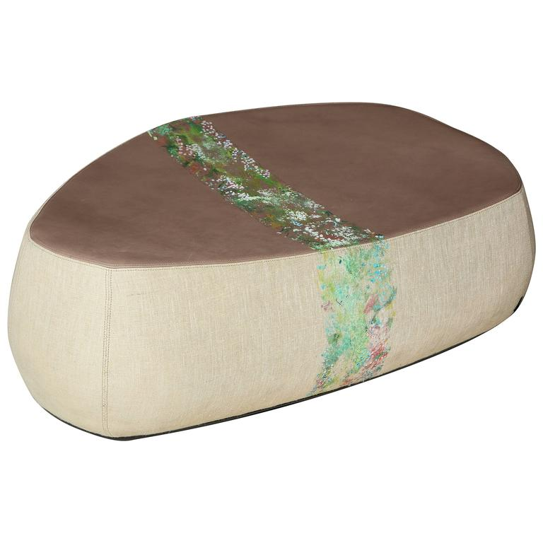 """Large """"Fjord"""" Stool by Nuala Goodman and Patricia Urquiola for Moroso For Sale"""