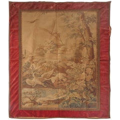 Tapestry Wall Hanging, circa 1920s from a Historic South Florida Home