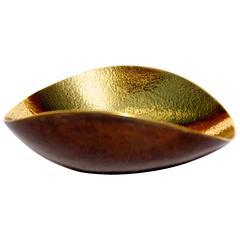 Cast Brass Shallow Bowl