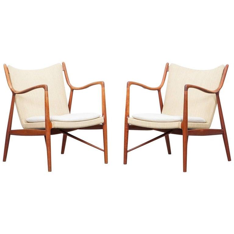 Finn Juhl Lounge Chairs in Teak 'b' 1