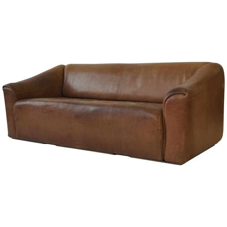 de sede ds 47 leather sofa at 1stdibs. Black Bedroom Furniture Sets. Home Design Ideas