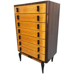 Mid-Century High Chest of Drawer, 1950s