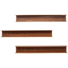 Set of Three Walter Wirtz Shelves