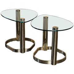 """Pair of 1970s """"Pace Collection"""" Side Tables"""