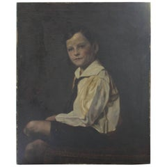 Early 20th Century Portrait of a Young Boy
