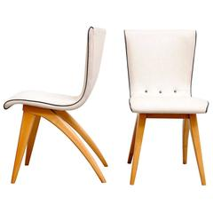 Pair of Van Os Dining Chair from Culemborg