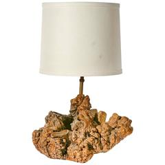 Vintage Natural Root Table Lamp