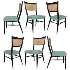 Fine Set of Six Directional Dining Chairs by Paul McCobb