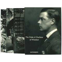 Sotheby's Catalogues from the Duke & Duchess of Windsor Auction