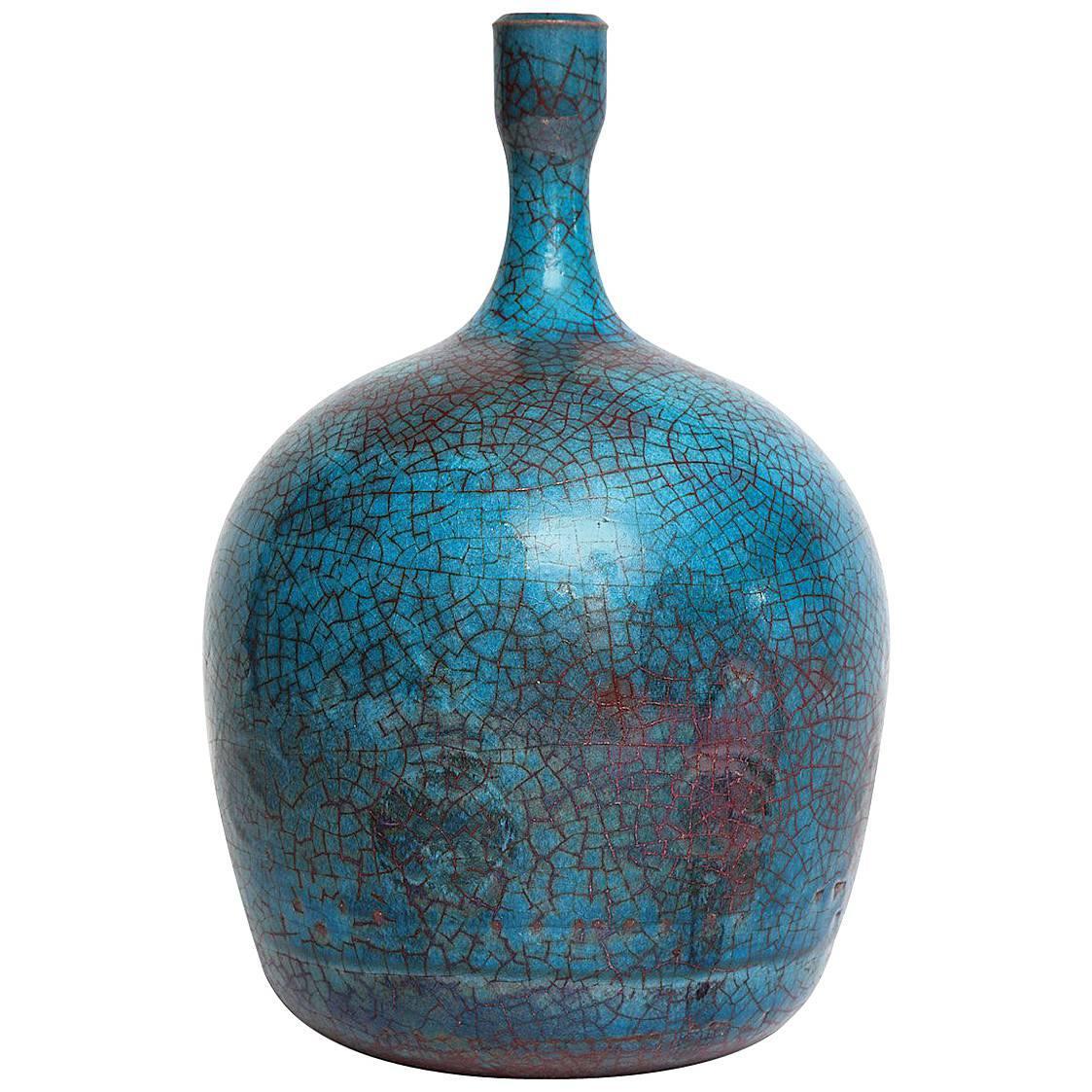 Ceramic Bottle by Carlo Zauli