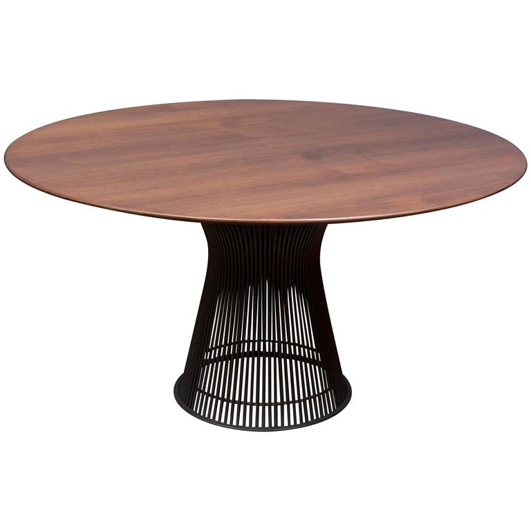 Warren Platner Bronze Dining Table for Knoll