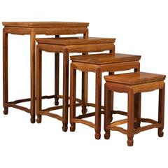 Contemporary Nest of Four Tables, Brights of Nettlebed