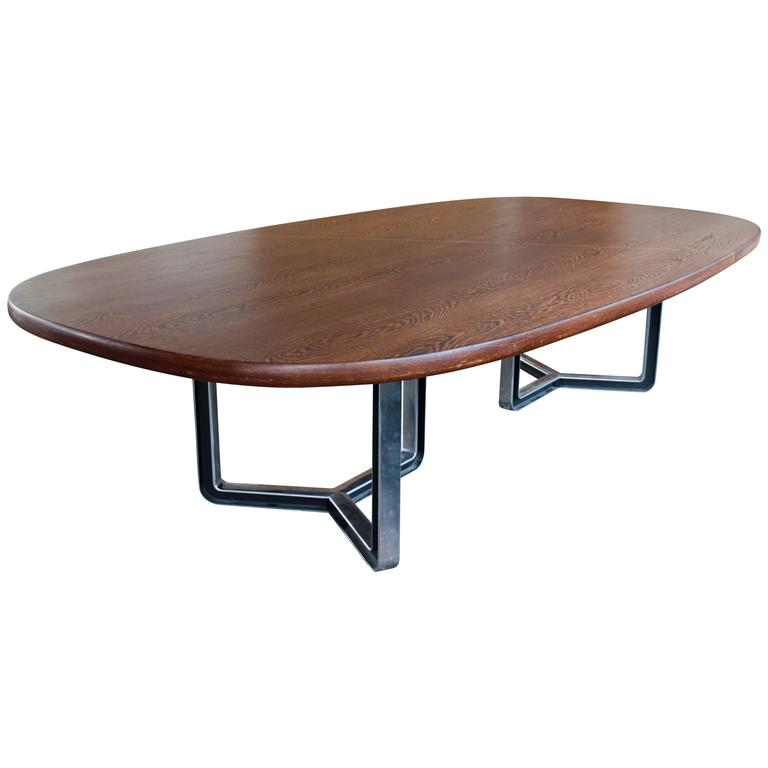 Conference or Dining Room Table by Osvaldo Borsani