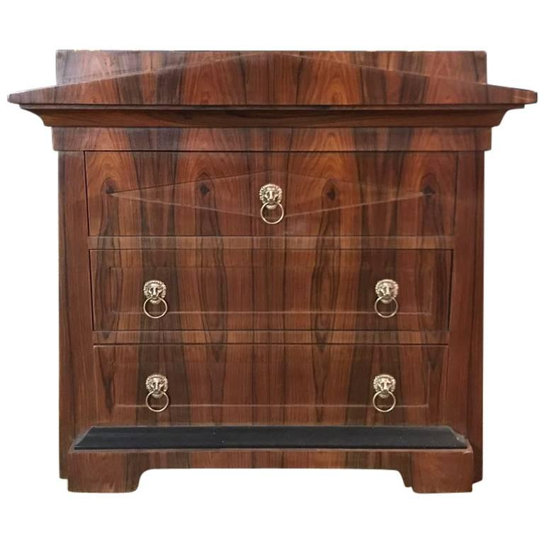 Conical Commode Chest of Drawers in the Biedermeier Style