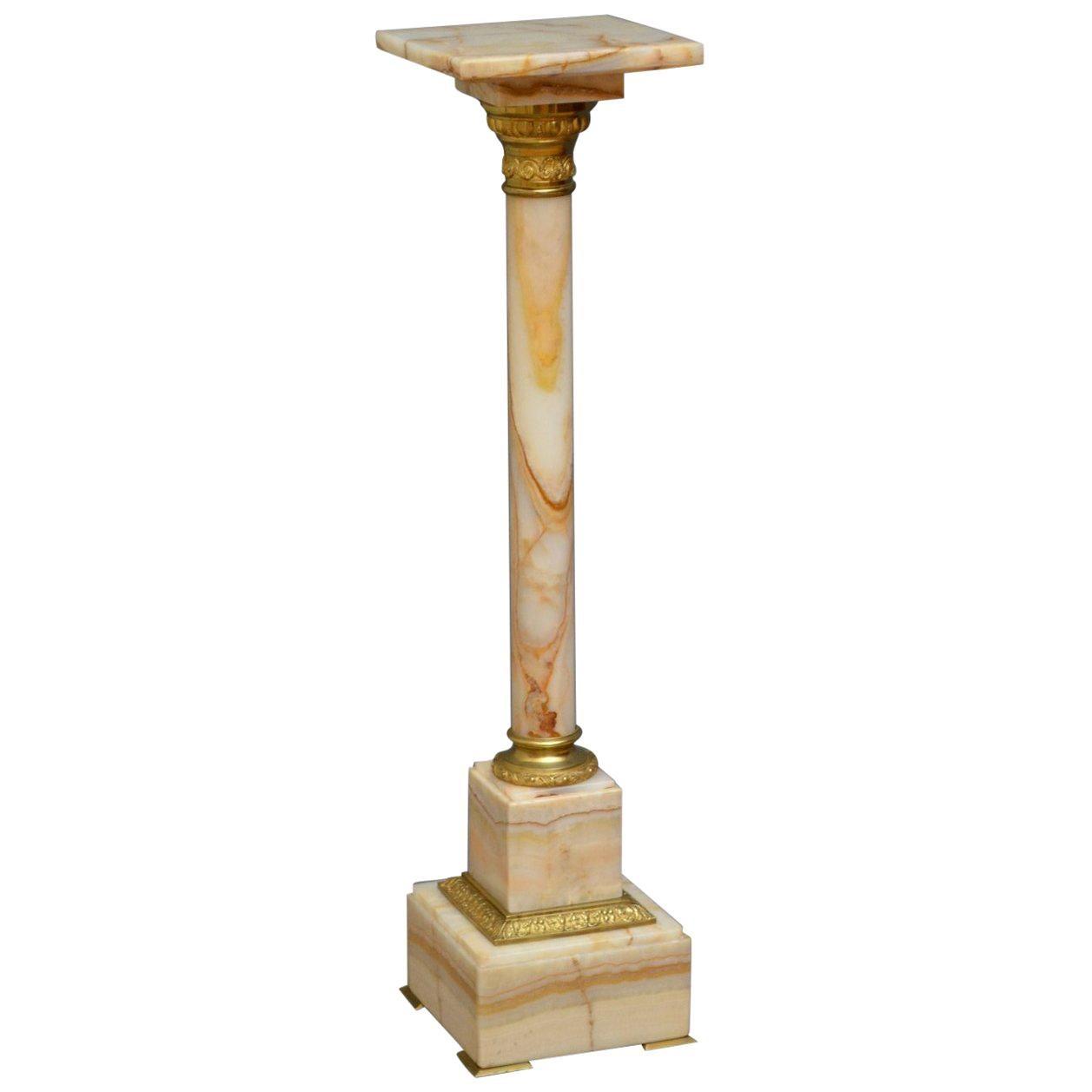 Edwardian Marble Column