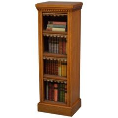 Victorian Solid Oak Bookcase