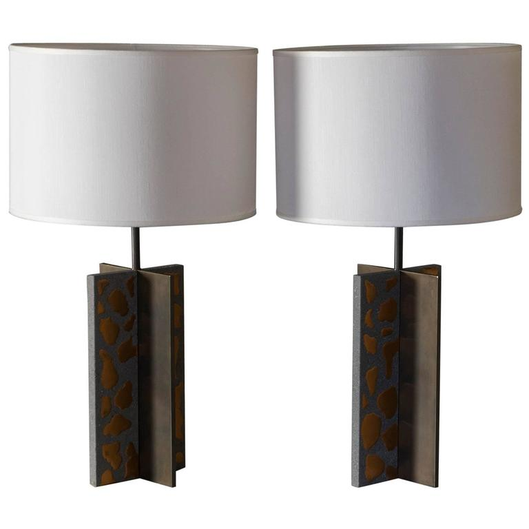 "Flair Edition ""Basaltina"" Table Lamp"