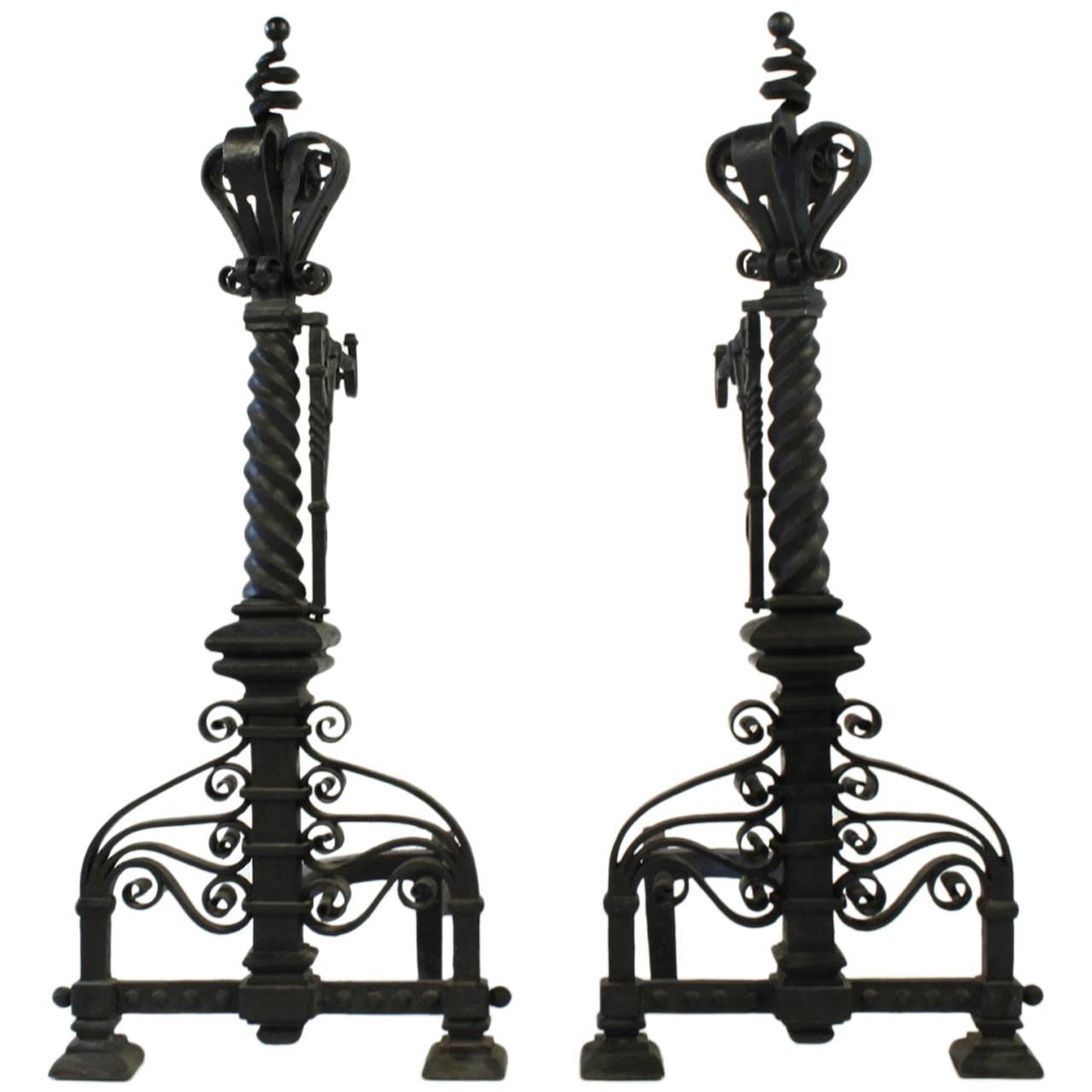 polished combination suite valentine irons fireplace polish cast low traditional full iron carron