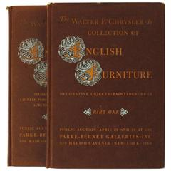 Auction Catalogues from Walter Chrysler Jr. Collection of English Furniture