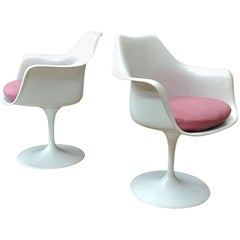 Pair of Tulip Armchairs by or Knoll International, 1950s