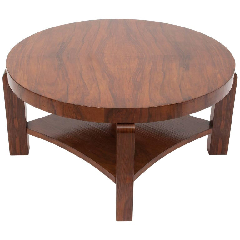 Art Déco French Coffee or Sofa Table For Sale