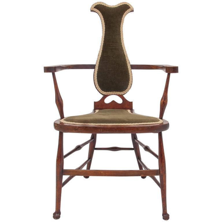 Old English High Chair