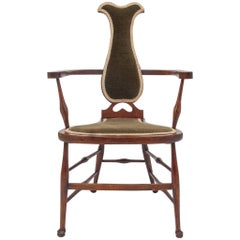 Old English High Chair