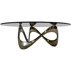 Knut Hesterberg Mid century Modern Snake Table for Ronald Schmitt