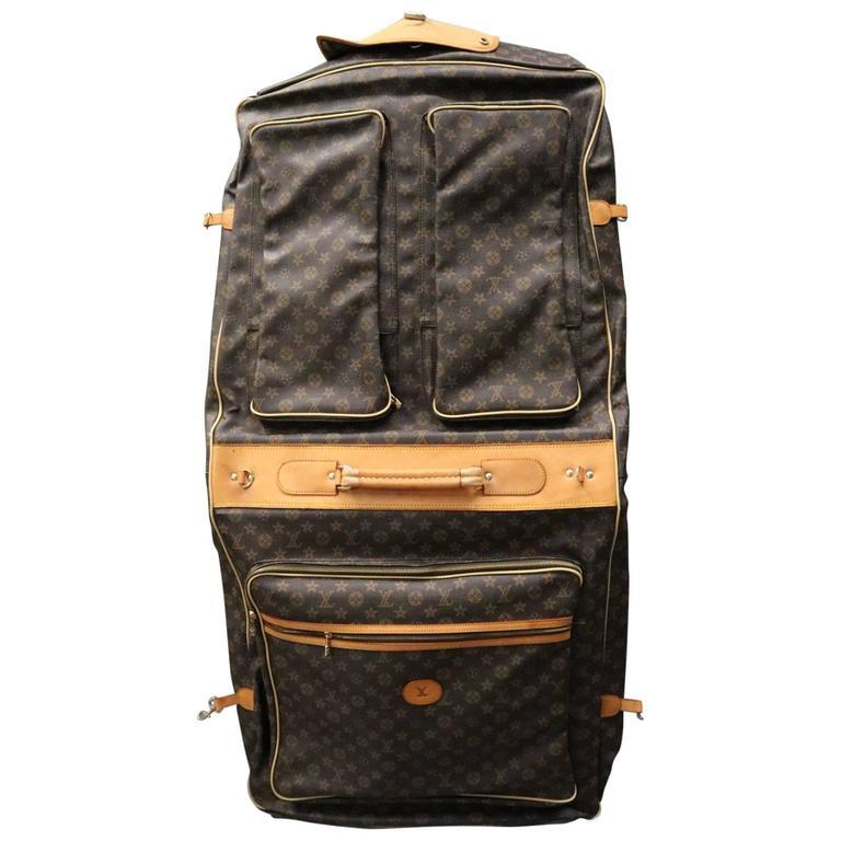 34ea8a06511a Vintage Louis Vuitton Style Garment Bag Luggage