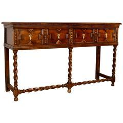 19th Century English Oak Sideboard